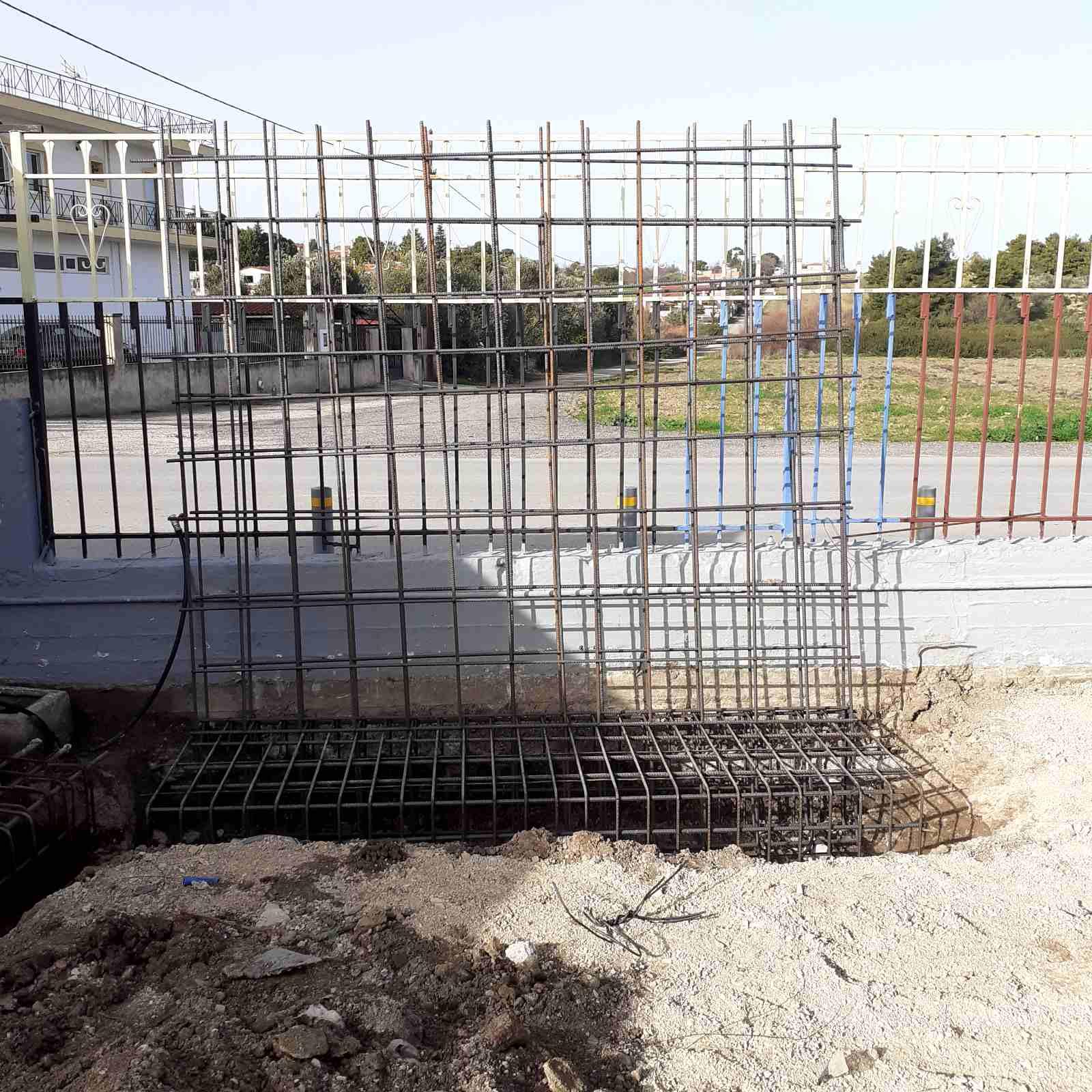 Κατασκευή στεγάστρου και βρυσών στο Δημοτικό Σχολείο Δηλεσίου(ΦΩΤΟ)